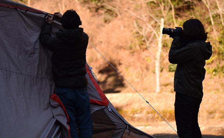 撮影キャンプ5