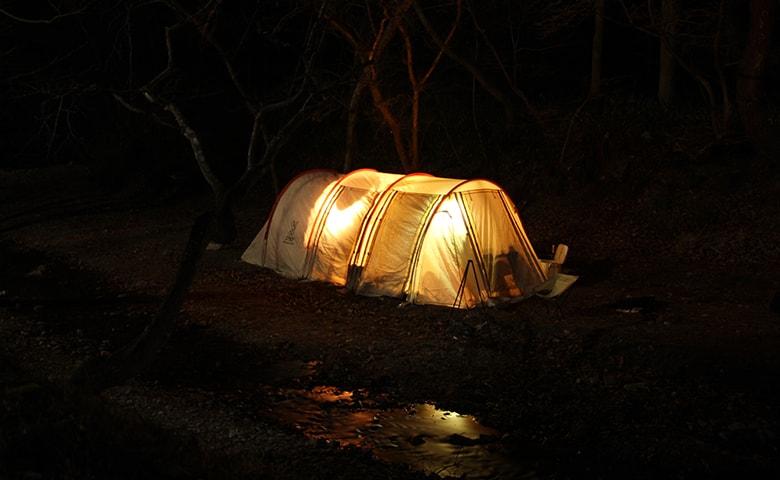 撮影キャンプ1
