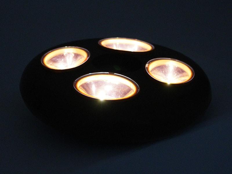 リモコンUFOライトの各部の特徴(暖色LEDライト採用)