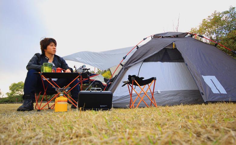 ツーリングのテントをワンタッチにするとこんなに楽ちん!な5つの理由