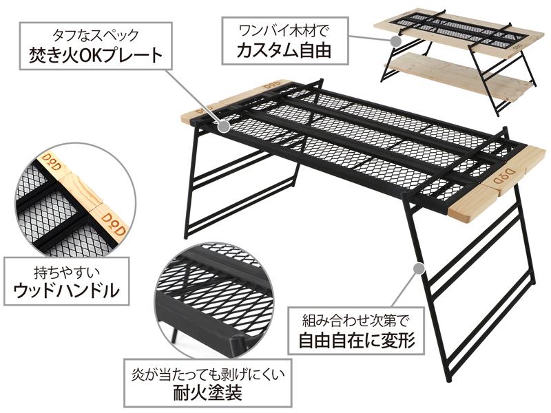 テキーラテーブルの主な特徴