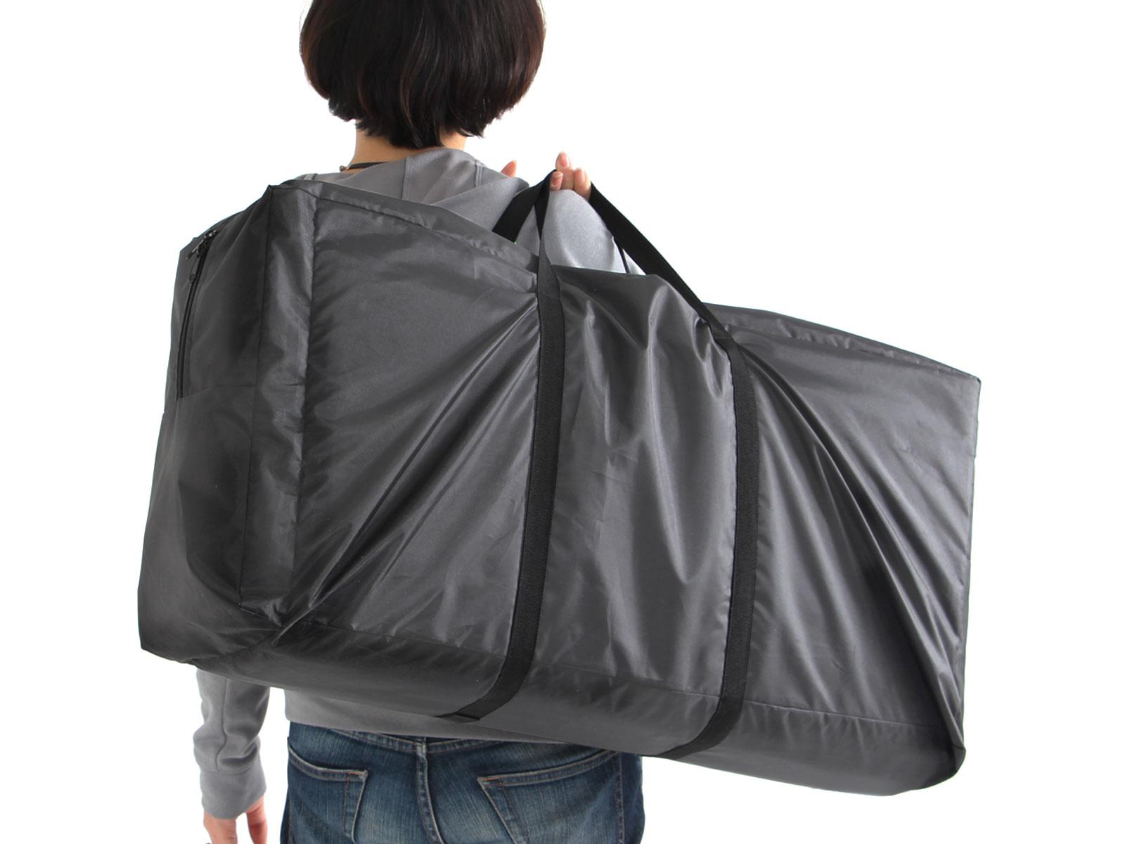 カマボコテント用マットシートセットのメインの特徴(グランドシートとインナーマットが一緒に入る専用キャリーバッグ)