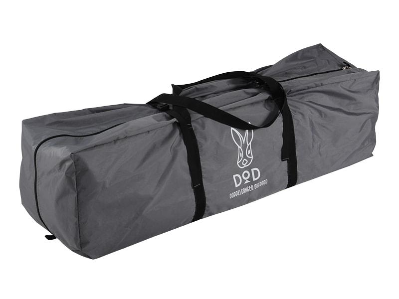 ワンタッチビッグダディの各部の特徴(収納しやすいキャリーバッグ)