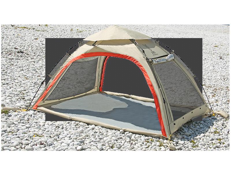 ワイドビーチテントT5-525T(ベージュ)の製品画像