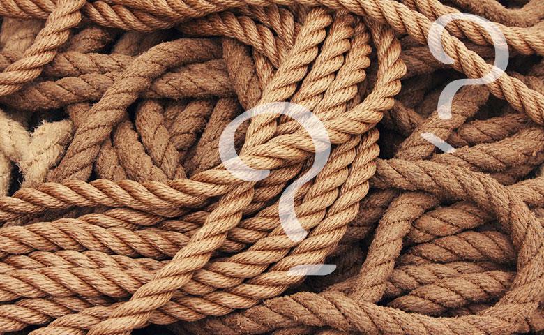 ロープワークで好感度UP!絶対に覚えておきたい結び方3選