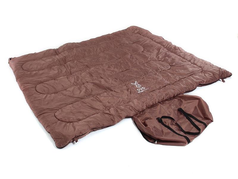 わがやのシュラフの各部の特徴(縫い付け式コンプレッションバッグ)
