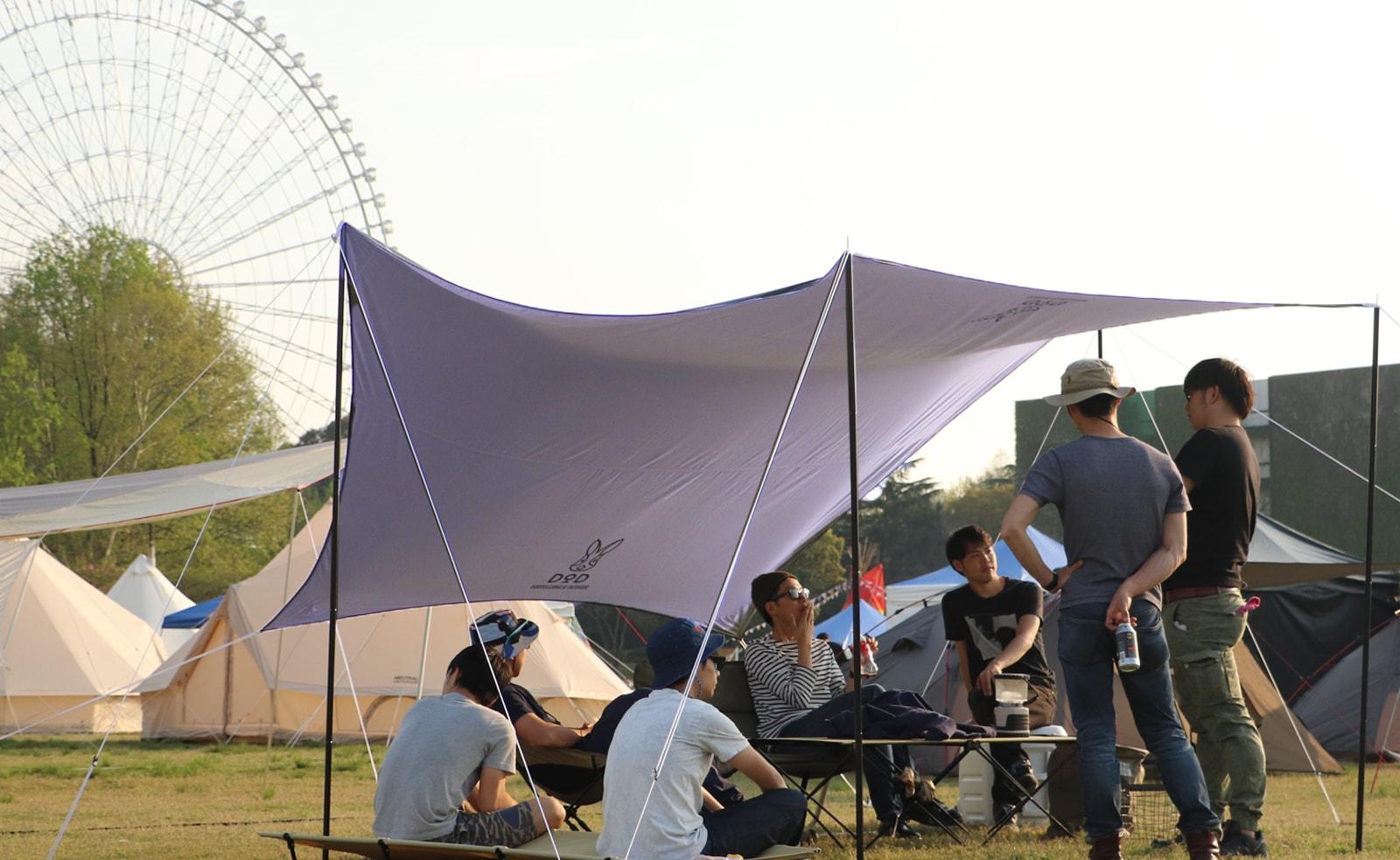 キャンプにタープって本当に必要?メリット・デメリットをまとめてみた。