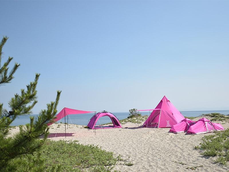 ワイドビーチテントのギャラリー画像