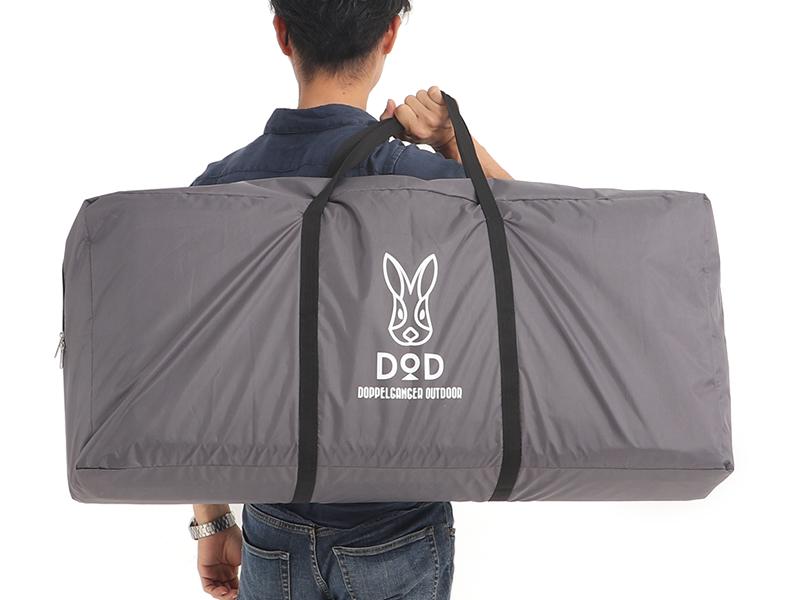 プレミアムワンタッチテント用テントマットのメインの特徴(専用キャリーバッグ)