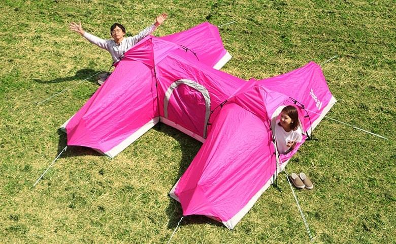 不便なテントはワクワクする?DODの変なテント4選と開発裏話。