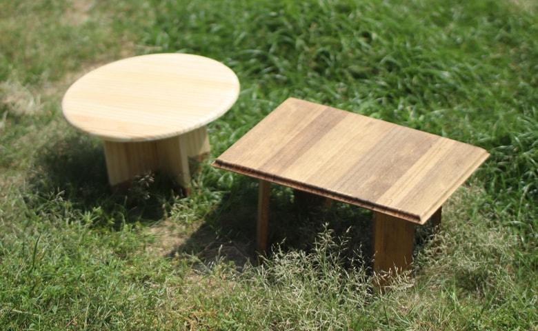 キャンプギアをおしゃれに自作!ミニテーブルのDIY術