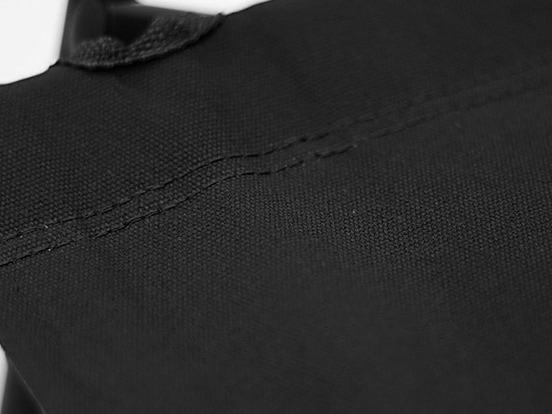 ローローバーチェアの各部の特徴(頑丈な帆布(コットン)生地)