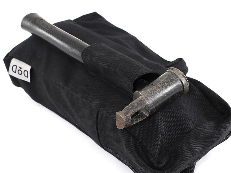 ペグマクハコブペグバッグの各部の特徴(ハンマー用のベルトループ)