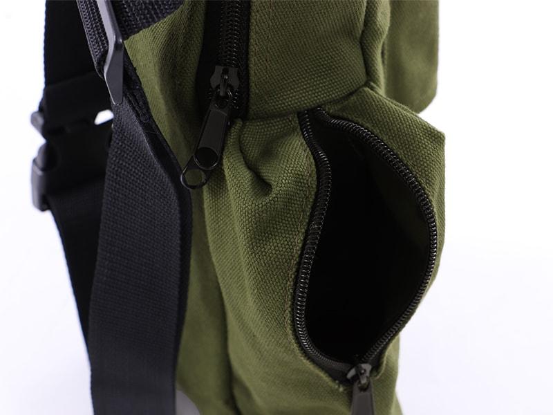 ペグマクハコブペグバッグの各部の特徴(小物収納もできるサブポケット)