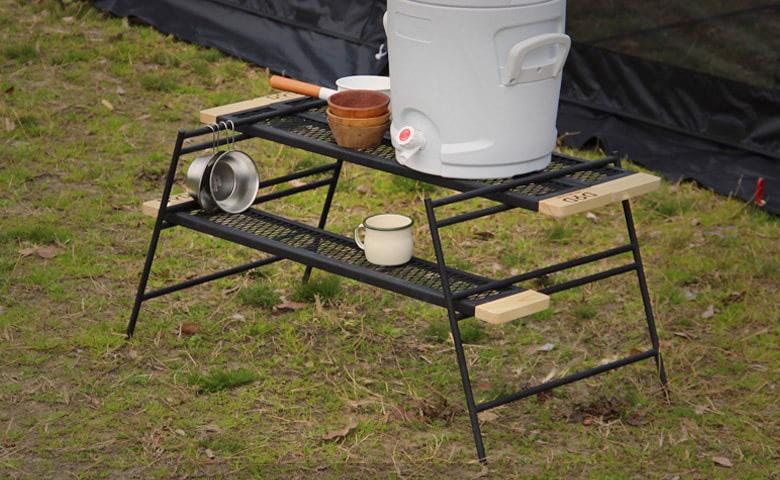 テキーラテーブルが焚き火まわりの囲炉裏テーブルに変身?!テキーラテーブルカスタム実例11選。