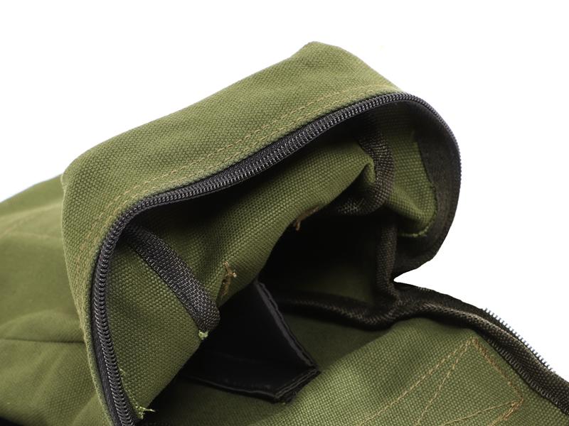ペグマクハコブペグバッグの各部の特徴(仕切り付き)