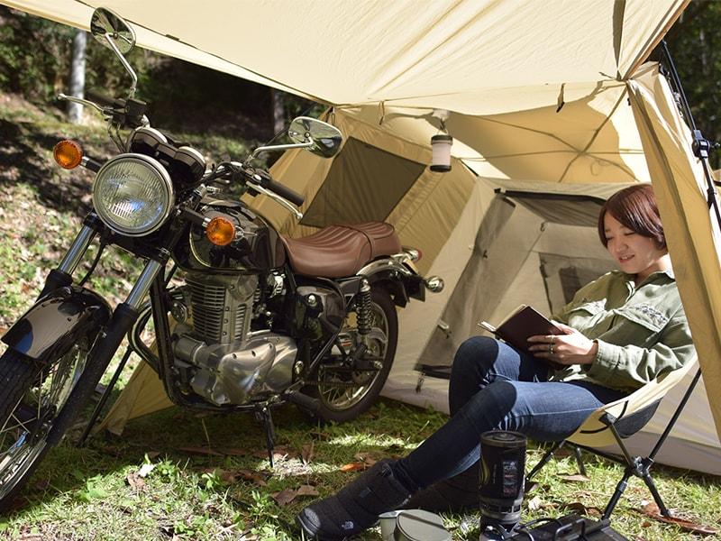 ライダーズバイクインテントのギャラリー画像