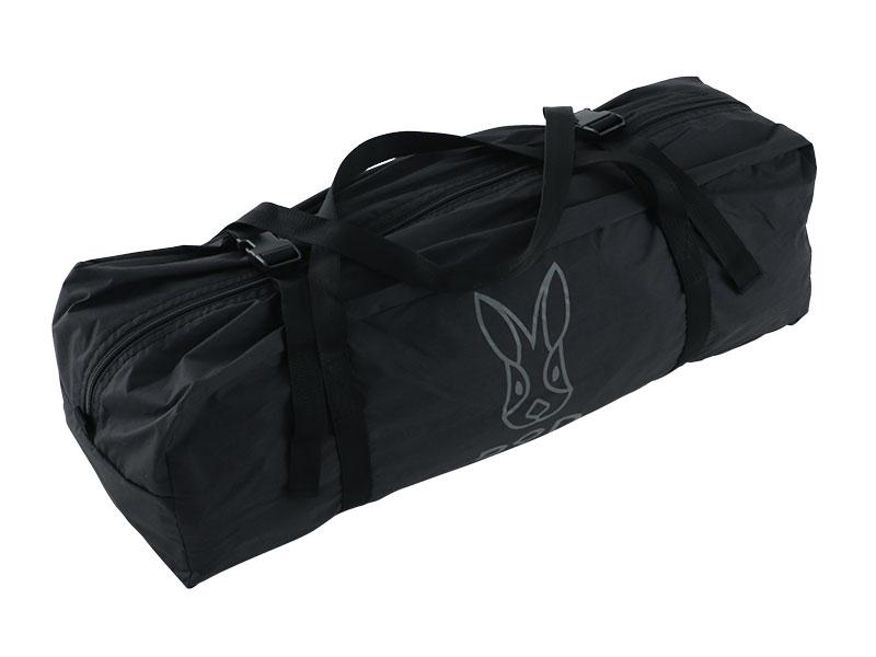 パップフーテントの各部の特徴(専用コンプレッションバッグ)