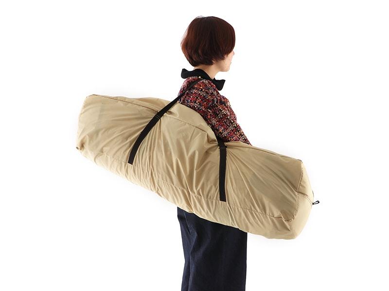 ワンタッチフィッシングテントの各部の特徴(大きめキャリーバッグ)