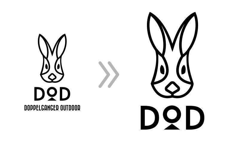 ウサギさんマークのDOD(ディーオーディー)で覚えてね!