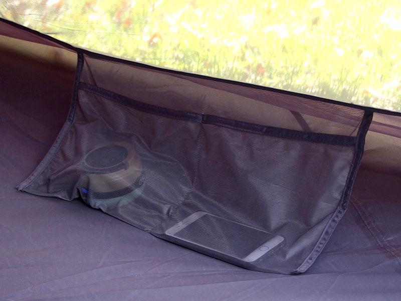 ワンポールテントLの各部の特徴(インナーポケット)