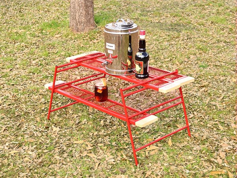 カシステーブルの使用の一例