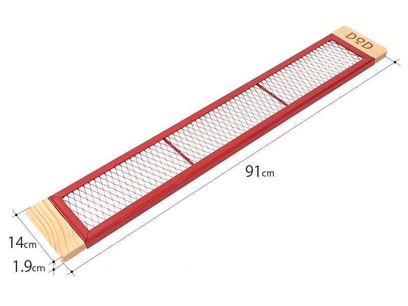 カシスプレートMのサイズ画像