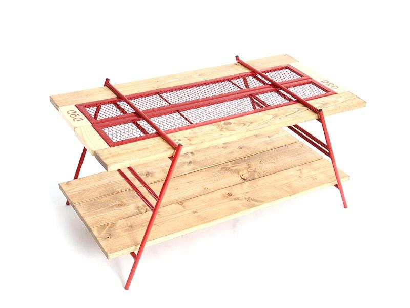 カシステーブルのメインの特徴(ワンバイ木材でカスタム可能)