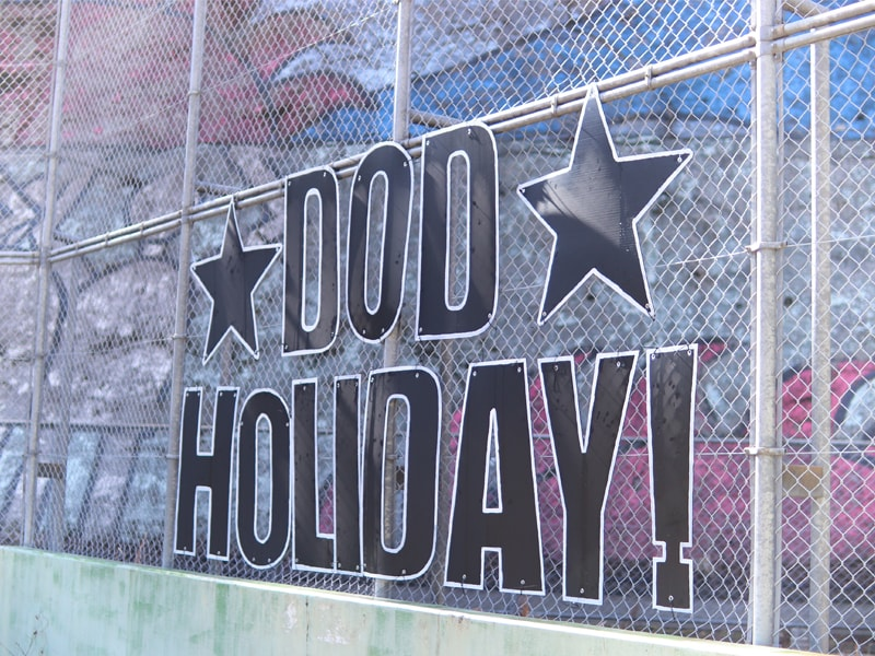 DOD HOLIDAY!