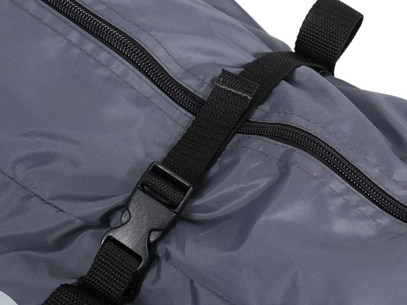 ライダーズベースの各部の特徴(コンプレッションバッグ)