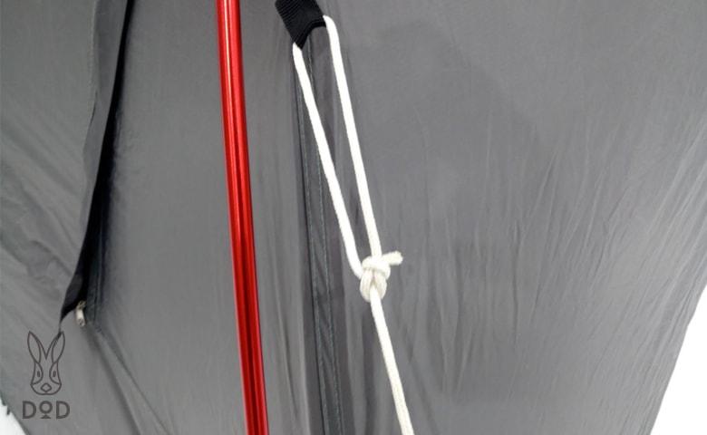 テント ロープ 結び方