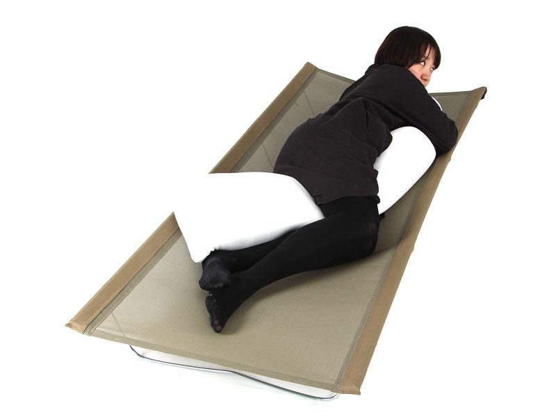 ウルトラクールキャンピングベッドの使用の一例
