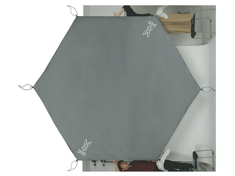 ワンポールテント用グランドシート(5人用)の製品画像