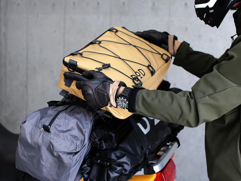 ライダーズクーラーバッグのギャラリー画像