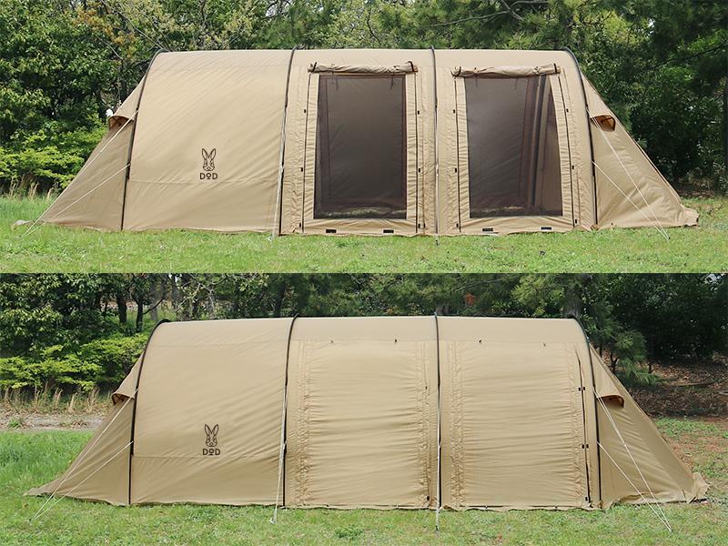 カマボコテント2のメインの特徴(夏は涼しく、冬は暖かいオールシーズン仕様)