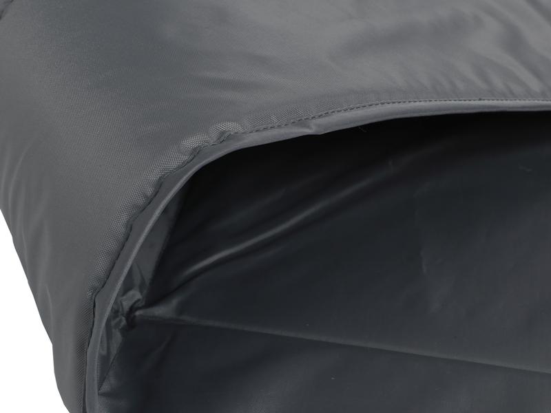 ワンタッチビッグダディ用マットシートセットのメインの特徴(地面の凸凹を緩和する6mm厚インナーマット)