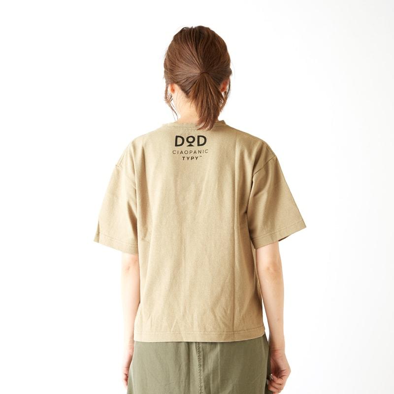 DOD × ciapanicTYPY コラボTシャツ