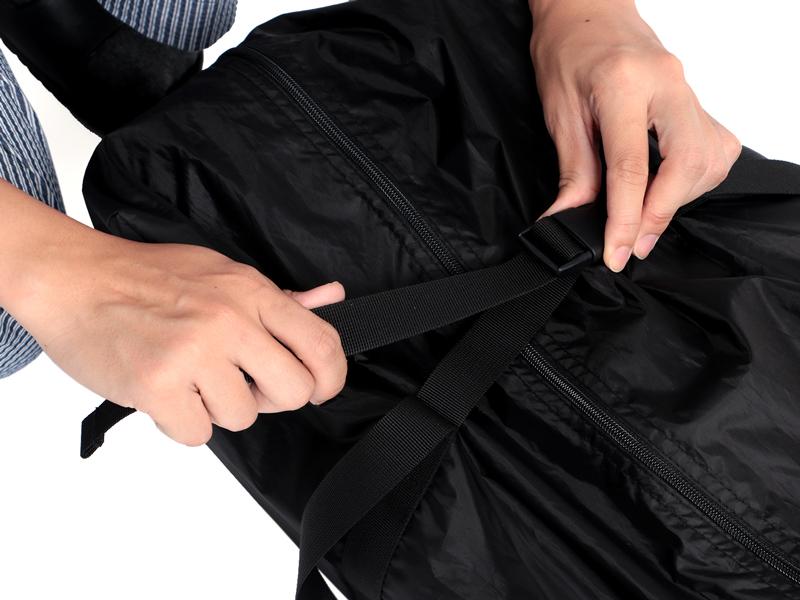 カマボコテントミニULの各部の特徴(専用コンプレッションバッグ)
