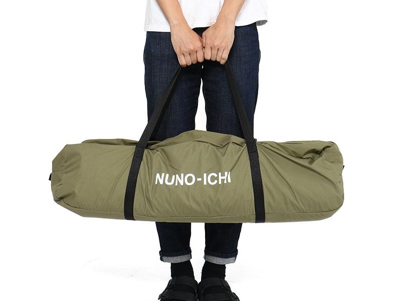 ヌノイチ(M)の各部の特徴(コンパクト収納)