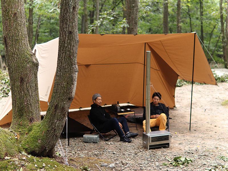 ヌノイチMのメインの特徴(2~3人キャンプに丁度よいサイズ)