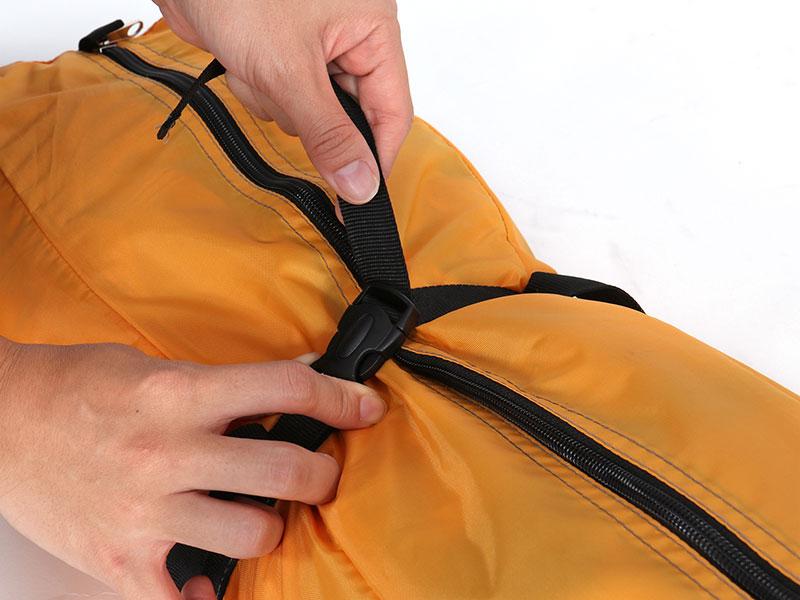 サブマリンテントLの各部の特徴(専用コンプレッションバッグ)