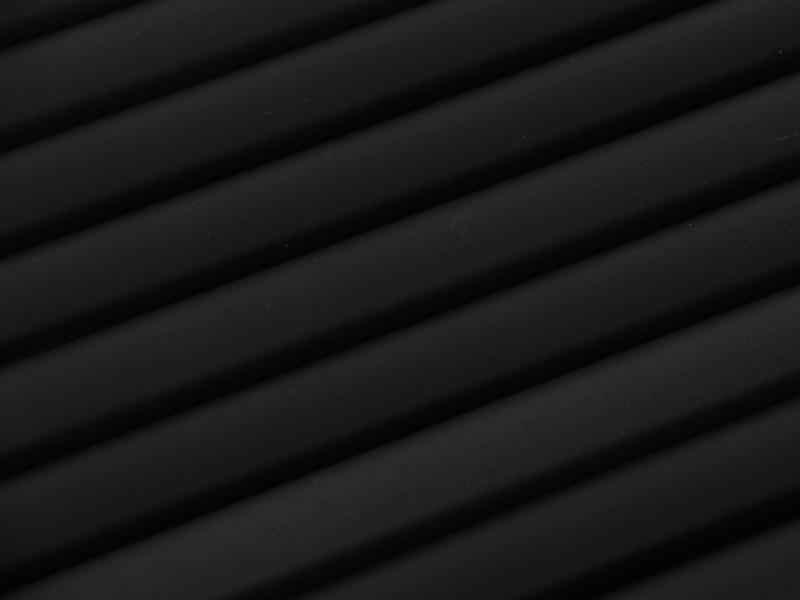 コンパクトタープポールの各部の特徴(アルマイト加工&ツヤ消し塗装)