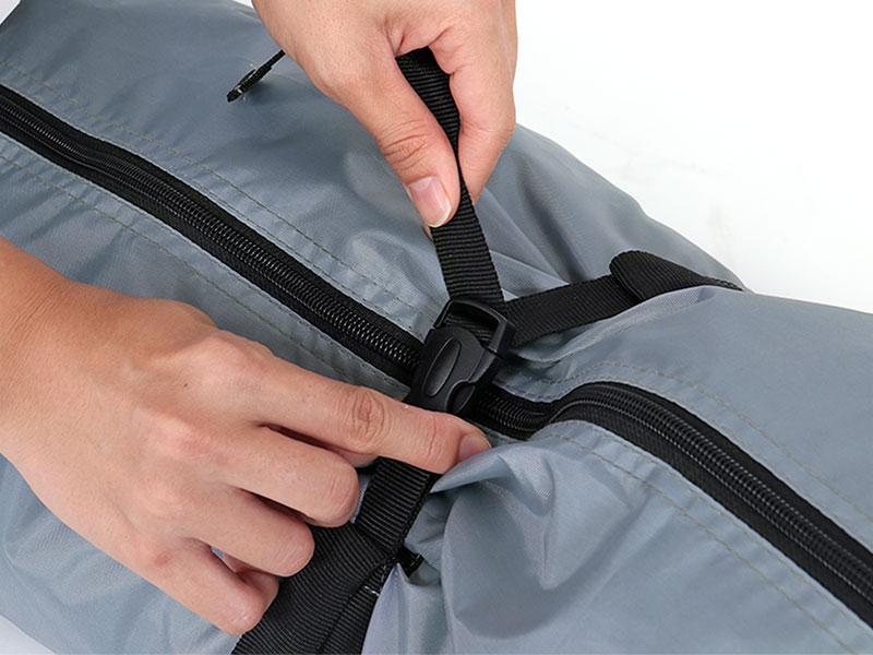 サブマリンテントMの各部の特徴(専用コンプレッションバッグ)