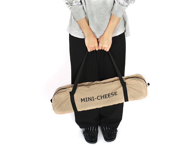 チーズタープミニの各部の特徴(コンパクトな収納サイズ)