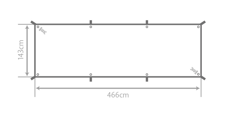 カマボコシールドのサイズ画像