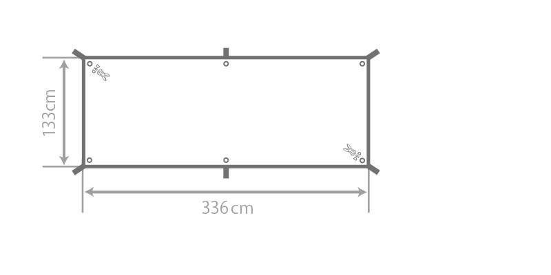 カマボコシールドミニのサイズ画像