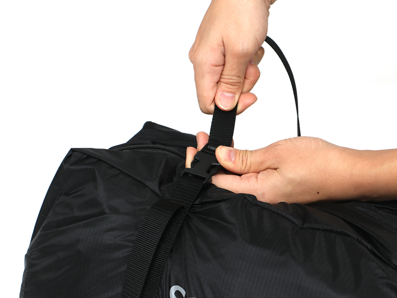 カマボコテントソロULの各部の特徴(専用コンプレッションバッグ)
