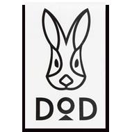 DODロゴステッカー(L)