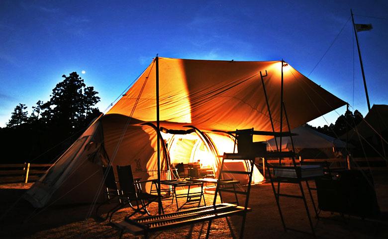 「テントとタープの連結について」イベントでよくある質問シリーズ。-FARM TREEイベントレポート-