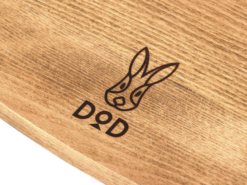 テキーラウッドプレートCのメインの特徴(木材の質感を活かしたオイル塗装)